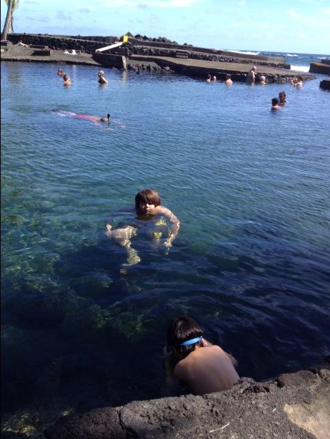 久しぶりに泳いだー!(^o^)