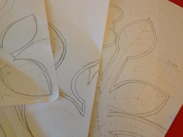 イリマのデザイン考え中。