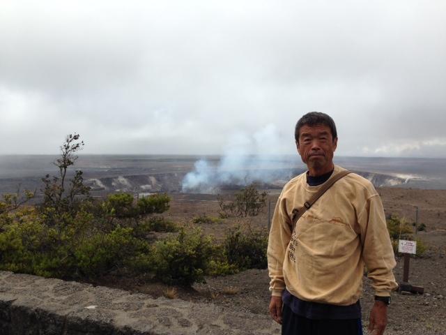 父がハワイ島に来ています。