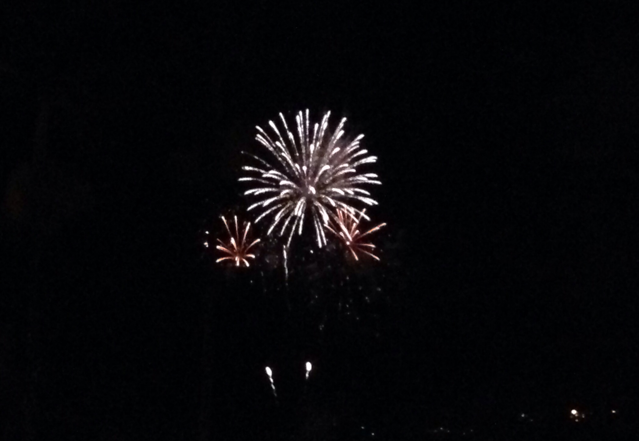 ハワイ島ヒロの花火